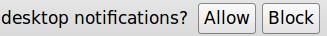 desktop notif allow